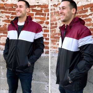 Host Pick! NWT Men's Colorblock Windbreaker